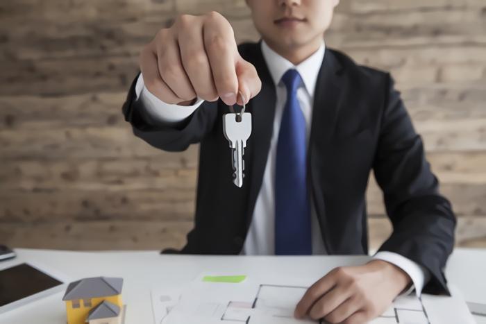 賃貸の鍵のイメージ写真